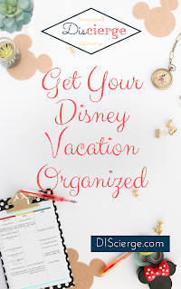 Get your last minute vacation to-dos organized with this free printable! | DIScierge.com | Your Disney vacation planning concierge