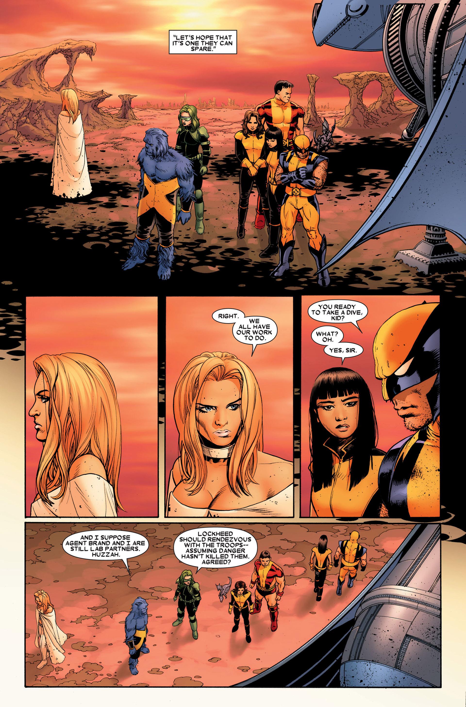 Read online Astonishing X-Men (2004) comic -  Issue #23 - 4