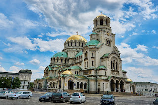 Sofia Bulgaria cathedral
