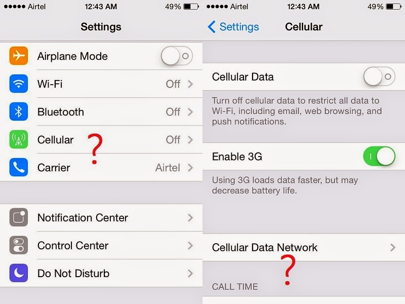 How to Get Missing Personal Hotspot Back in iPhone - My