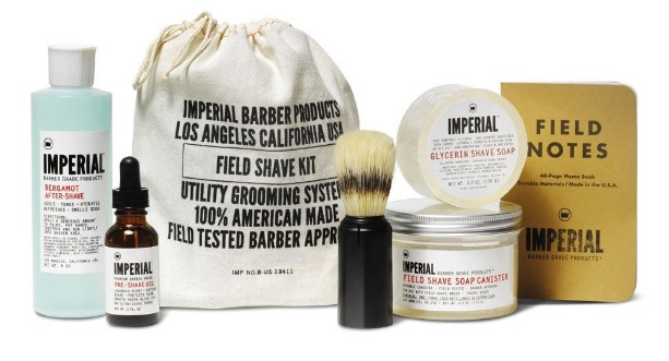 Imperial Field Shave Kit for Men