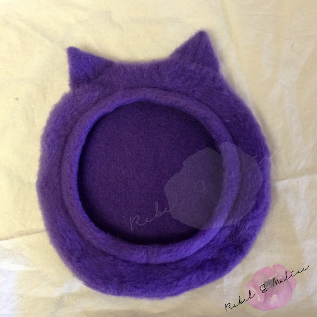 Rebel & Malice: Cat Ear Beret tutorial