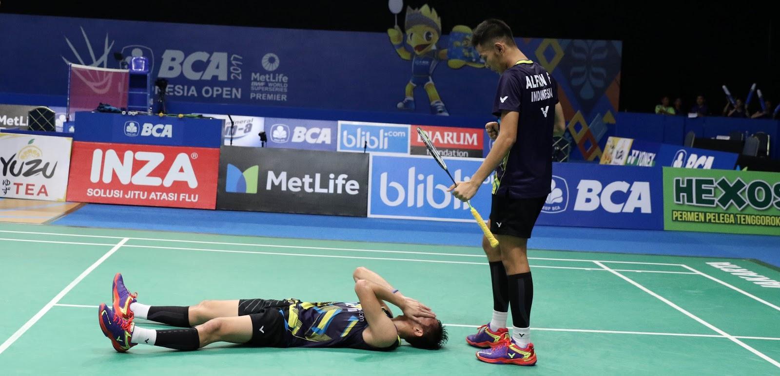 Fajar Rian Tembus Final Hafiz Gloria Tumbang di Semifinal