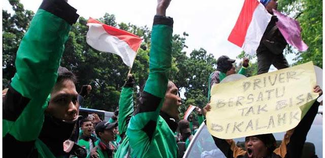 """Kecewa Jokowi, Komunitas Ojek Online Dukung Prabowo-Sandi, """"Kita Gak Minta Uang"""""""