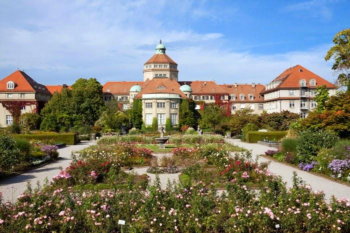 Botanischer Garten München Nymphenburg, Gedicht über München