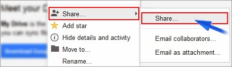 google drive css hosting
