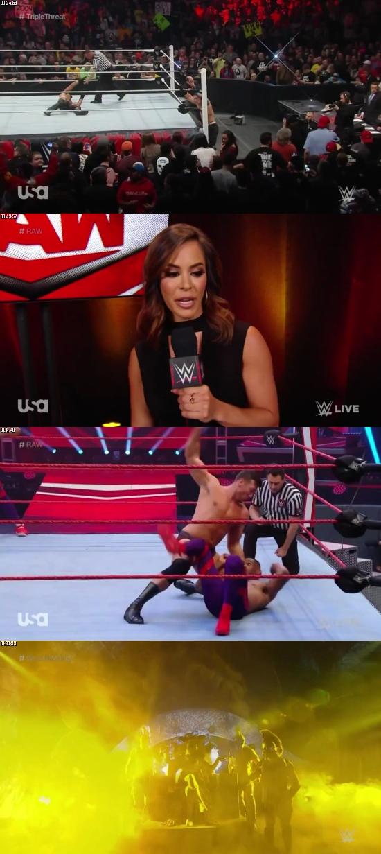 WWE Monday Night Raw 23 March 2020 HDTV 720p 480p 500MB