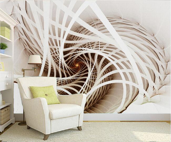 Construindo minha casa clean papel de parede ou tecido for Paredes artisticas