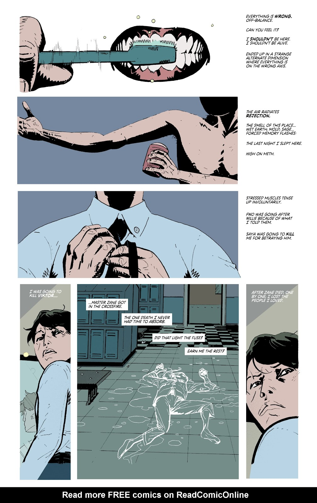 Read online Deadly Class comic -  Issue #38 - 15