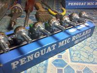 di gunakan untuk mixing audio untuk mix ampli toa rakitan