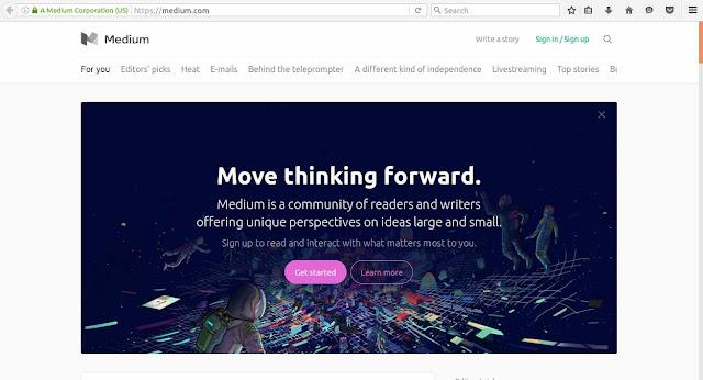hosted blogging platforms  medium