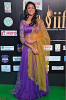 Priya Sri in Purple Choli Stunning Beauty at IIFA Utsavam Awards 2017  Day 2 at  15.JPG