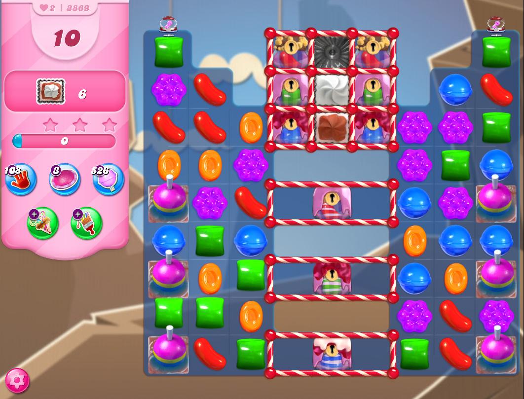 Candy Crush Saga level 3869
