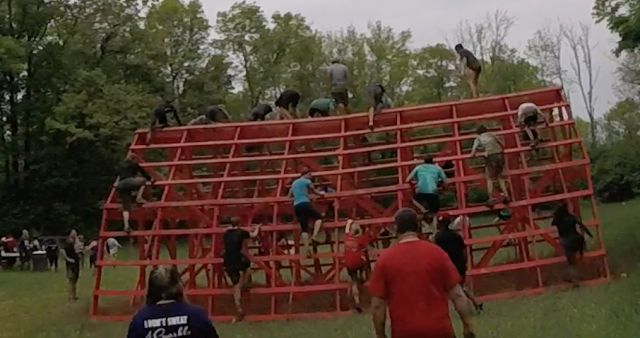 Warrior Dash obstacle