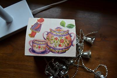 Czas na święta #2 Pomysł na prezent- pudełka decoupage