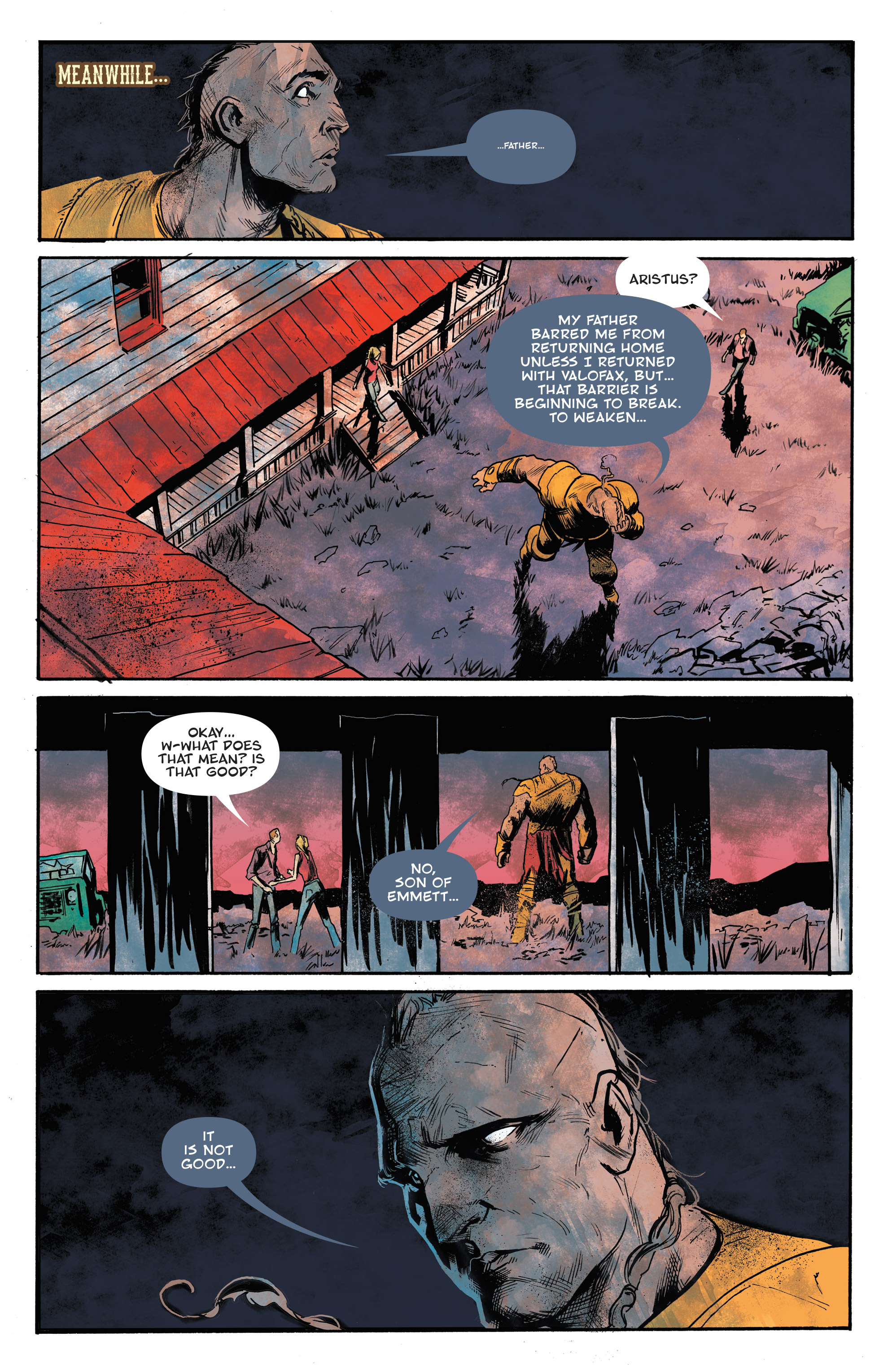 Read online God Country comic -  Issue #6 - 8