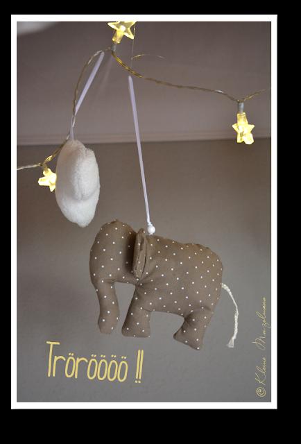 kleine muzelmaus elefanten betthimmel passend zur. Black Bedroom Furniture Sets. Home Design Ideas