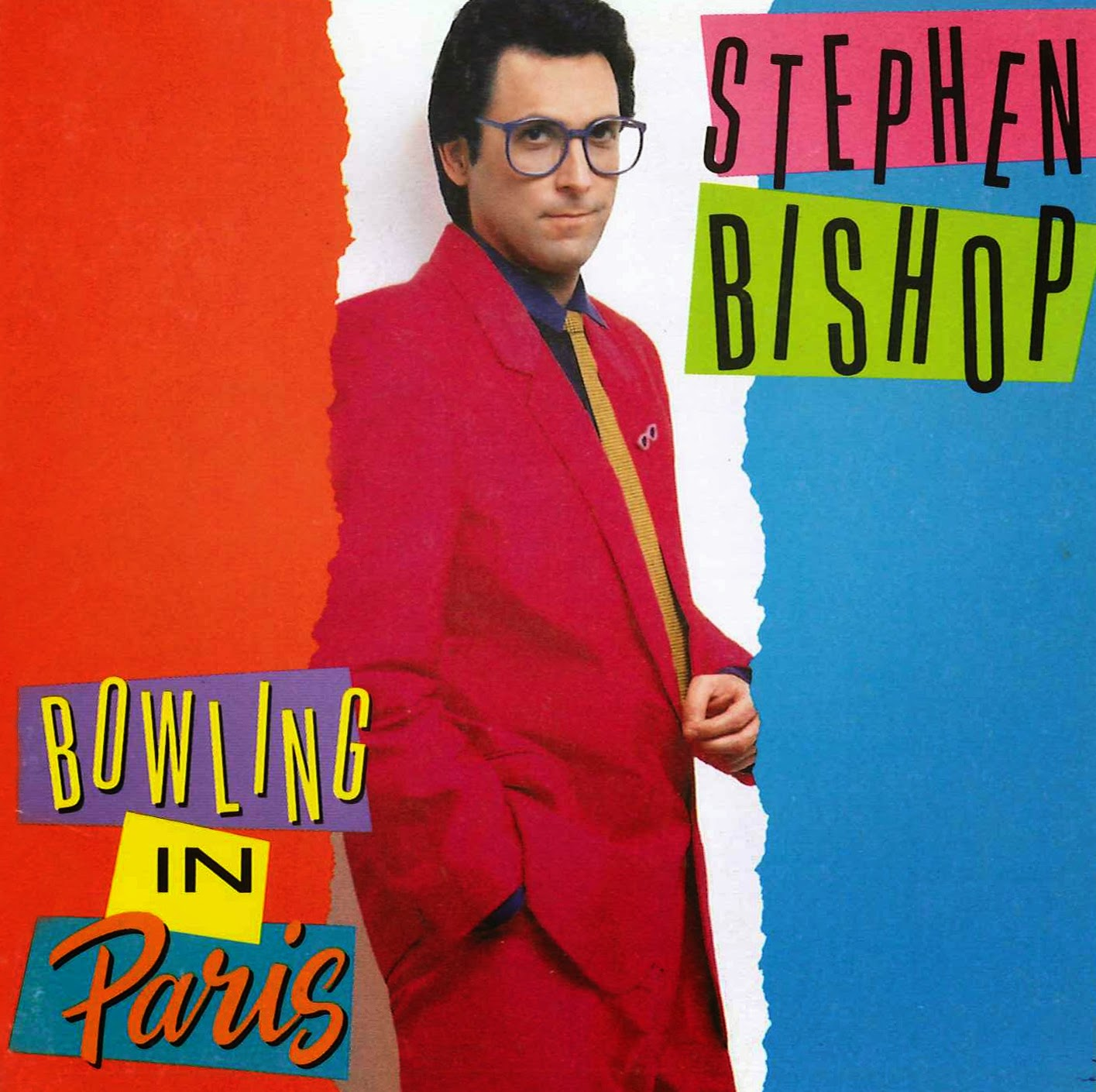 Stephen Bishop Bowling in Paris 1989 aor melodic rock