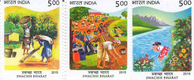 Swachh Bharat Abhiyan stamps