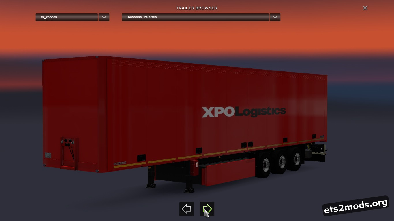 Trailer XPO Logistic