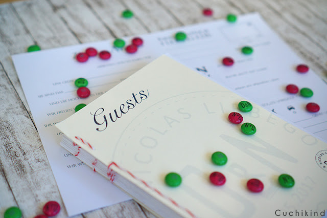Gästebuch Hochzeit selber machen