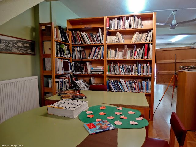Πρόγραμμα εκδηλώσεων Μαΐου Βιβλιοθήκης Κ.Τούμπας