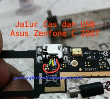 JALUR CHARGER ASUS Z007