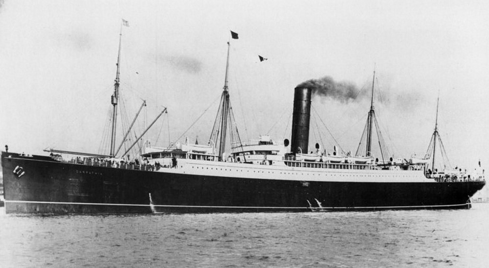 Roads to the Great War: Remember the Titanic's Rescue Ship ...