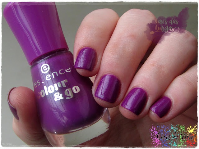 Breakthrough Essence Esmalte Nailpolish Roxo Cores das Amigas