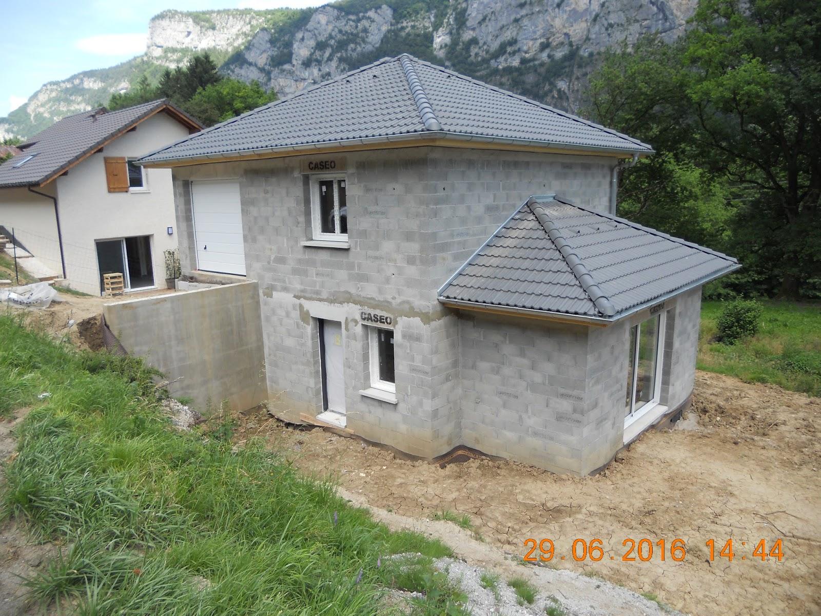 Elegant Exemple Du0027implantation Du0027une Maison Avec Accès Par Le Haut Du Terrain