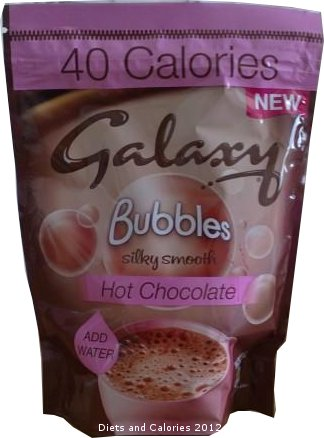 Diets And Calories Galaxy Bubbles 40 Calorie Hot Chocolate