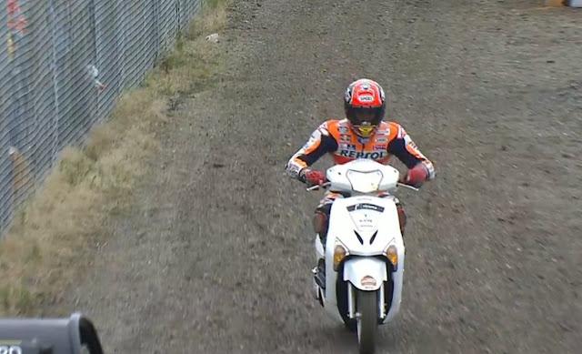 berita motogp Aturan baru, pembalap dilarang menggunakan Skuter di MotoGP