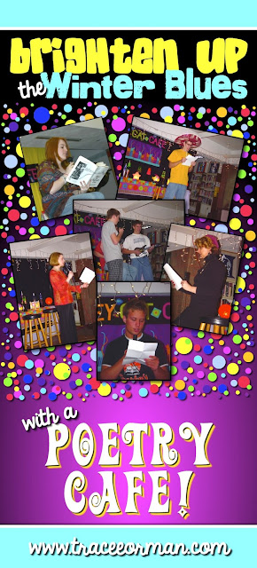Have a poetry cafe event in your English class www.traceeorman.com