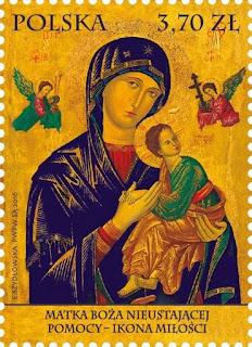 Polonia - Filatelia - Nuestra Señora del Perpetuo Socorro - 2016 - Sello