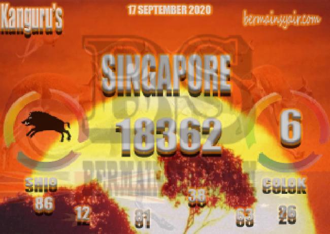 Kode syair Singapore Kamis 17 September 2020 255
