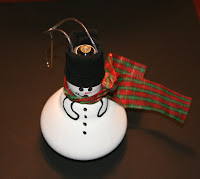 Snowman Floodlight Ornaments