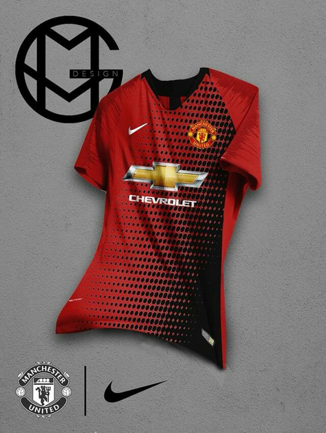 official photos e4be2 9403b Crazy Nike Manchester United Home, Away & Third Kit ...