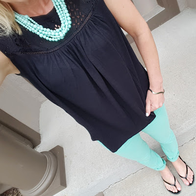 SUGARFIX by BaubleBar Necklace - on sale with Cartwheel - full outfit details here