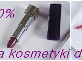 68. Natura -40% na kosmetyki do makijażu.