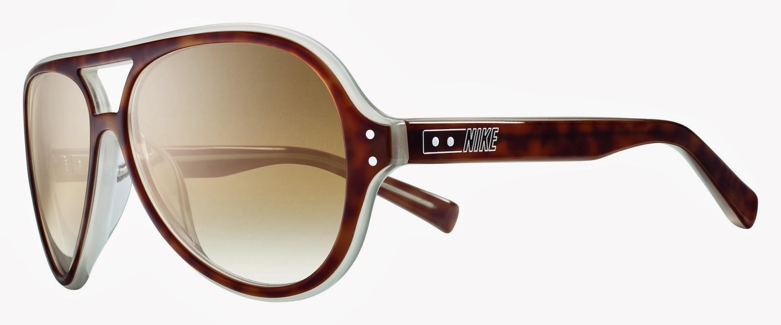 Uma surpresa pra quem estava acostumado somente com o design esportivo da  marca! Seguindo a tendência retrô, este óculos possui as lentes em ... 3fa596d37d