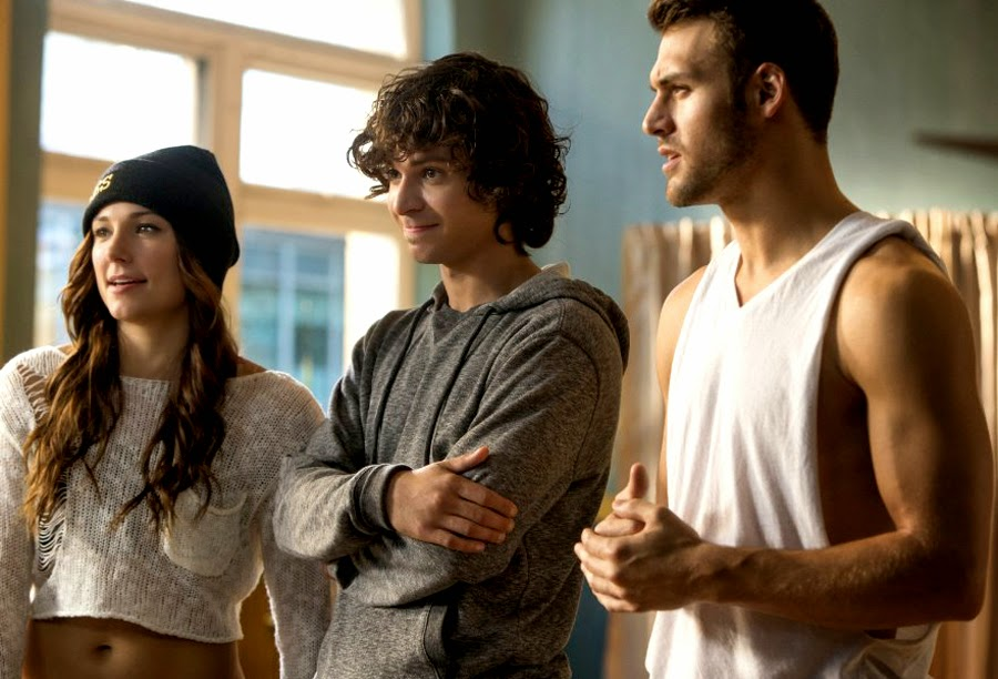 Briana Evigan, Adam Sevani şi Ryan Guzman în Step Up: All In