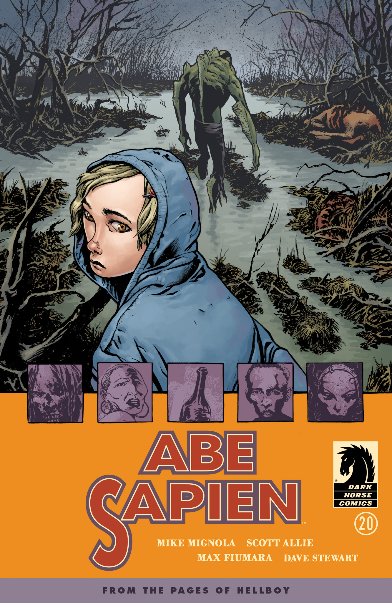 Read online Abe Sapien comic -  Issue #20 - 1