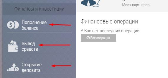 Регистрация в Vivere Finance 3