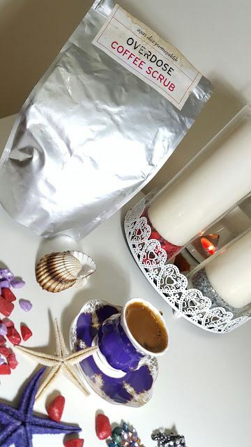 OVERDOSE COFFEE SCRUB KAHVELİ VÜCUT PEELİNGİ