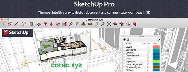 SketchUp Pro 2018 full crack