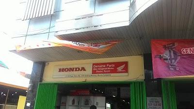 Bengkel Motor Honda Dekat Unila Bandar Lampung