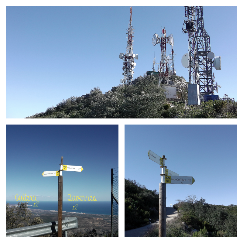 Vistas desde El Montdúver