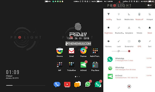 Pro Light MIUI 10 Theme.mtz