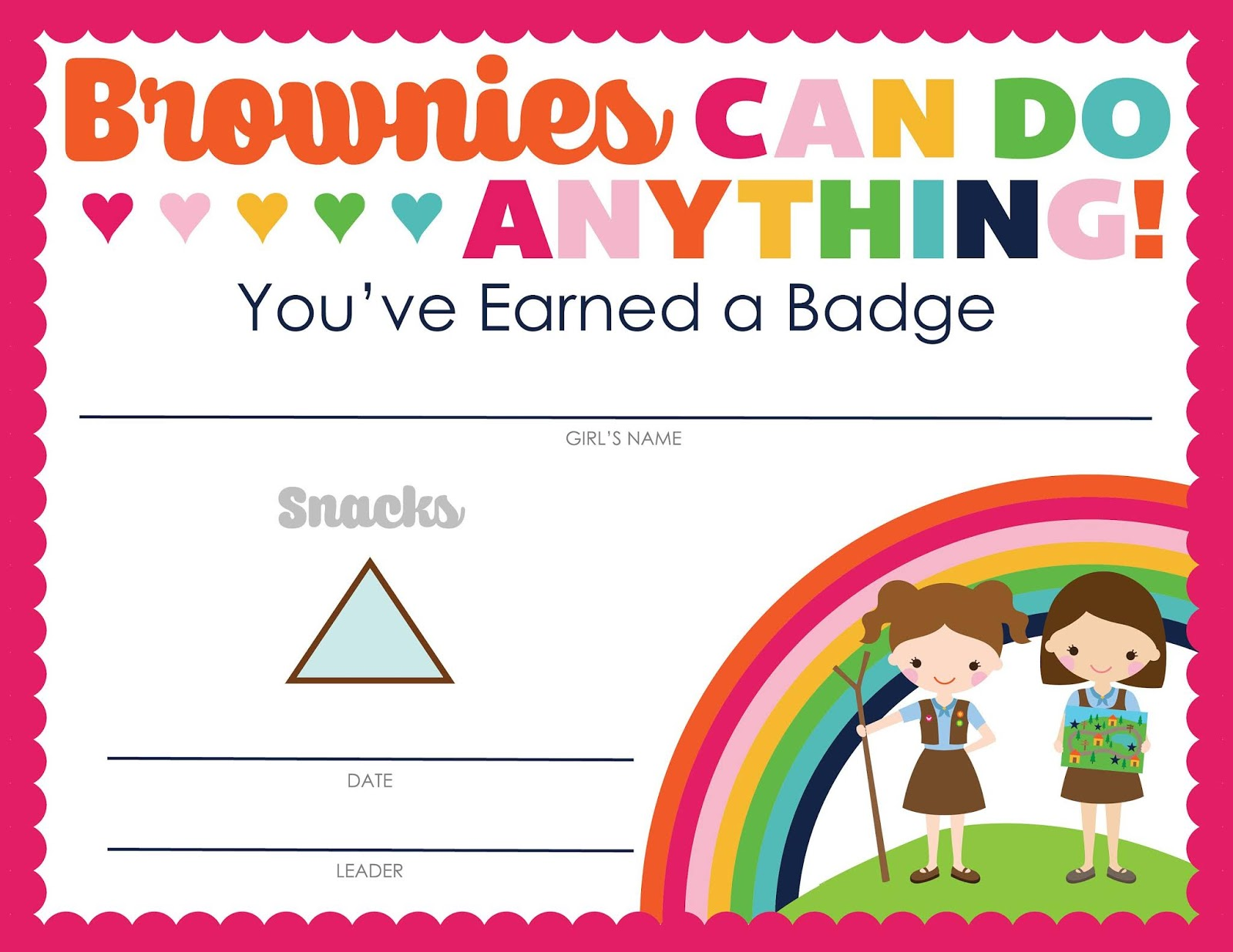 Strawjenberry Designs Iamgirlscouts Is Now
