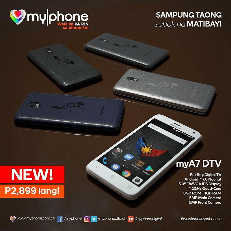 MyPhone MyA7 DTV